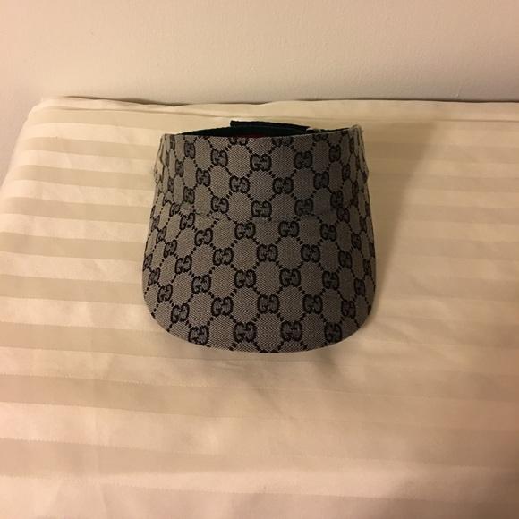 841e07efc44 Gucci Accessories - Authentic Gucci Sun Visor Hat