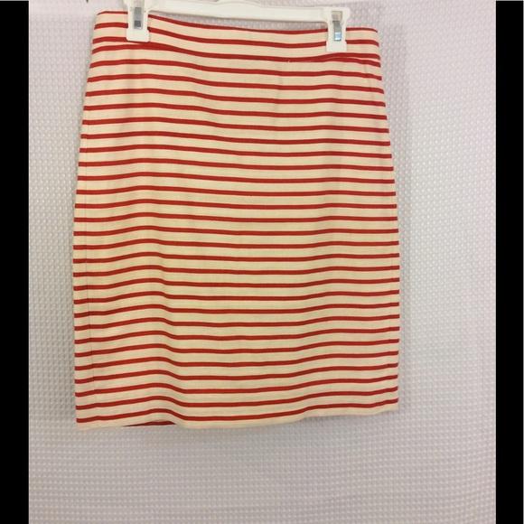 j crew j crew white no 2 pencil skirt linen