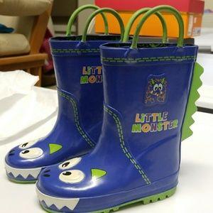 Next Other - Little monster Toddler rain boots 7