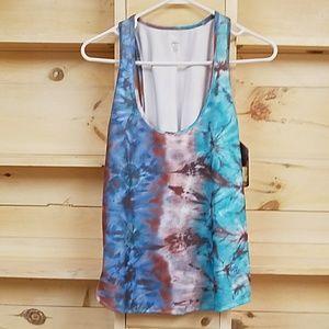 Mika Yoga Wear Tops - 4 for $25!   Tie Dye tank from Mika Yoga Wear