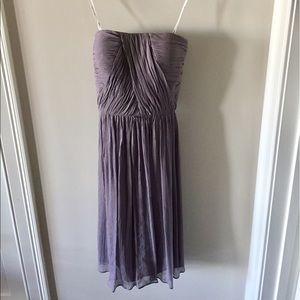 Donna Morgan Strapless Chiffon dress