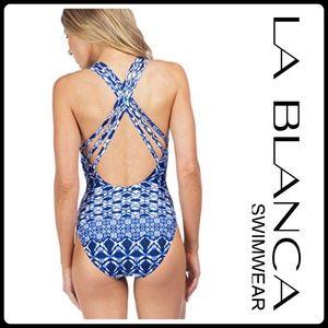 La Blanca Other - JUST IN 🆕 'X-BACK' MUlTI  STRAP TANK