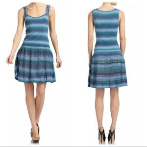 Z Spoke by Zac Posen Dresses & Skirts - NWT Z Spoke Zac Posen L Striped Knit Flare Dress