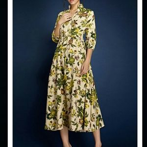 Borme Dresses & Skirts - Borme Midi Beautiful Floral Print Dress NWT
