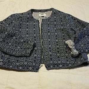 Old Navy Jackets & Blazers - Adorable tribal print jacket. A little boho.