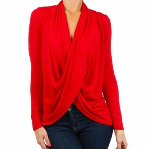 J-MODE  Tops - J-MODE Drape Top