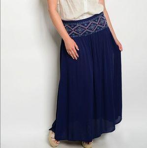 Dresses & Skirts - PLUS peasant maxi
