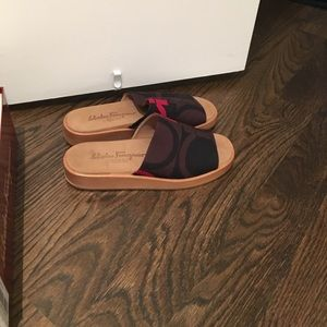 Salvatore Ferragamo Shoes - Ferragamo sport Sandles