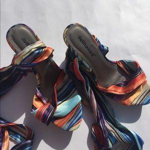 Dollhouse Shoes - NWOT Dollhouse Heels