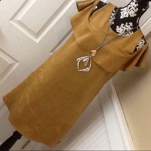 MSK Dresses & Skirts - Suede Dress
