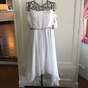 Dresses & Skirts - Never used in perfect condition white hi low dress