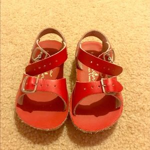 Salt Water Sandals by Hoy Other - Toddler red salt water sandals