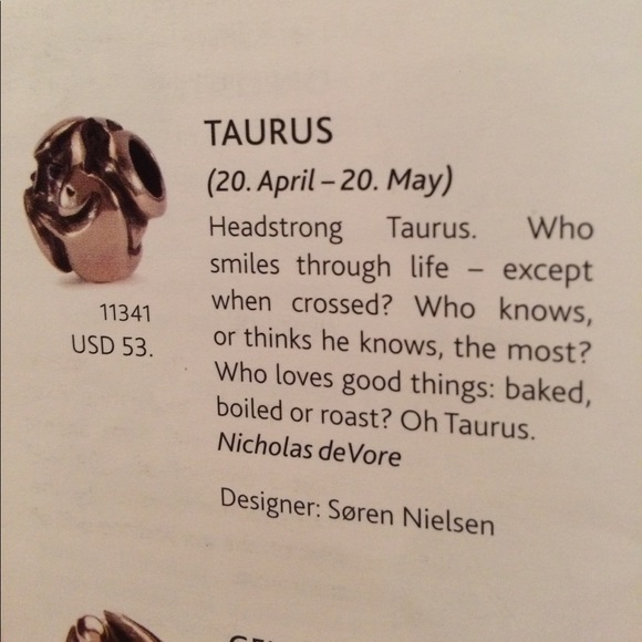 Authentic TROLLBEADS 11341 Taurus