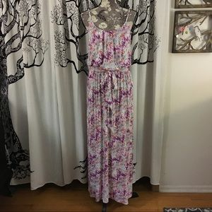 Three Dots Dresses & Skirts - NWOT Three Dots Belted Maxi Dress SZ S