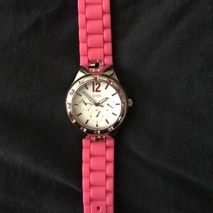 G by Guess Accessories - Pink bling Guess watch