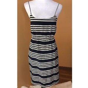 J. Crew Dresses & Skirts - J. Crew Sailor Stripes Silk Dress