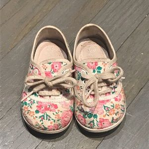 Jacadi Other - Jacadi liberty of london floral toddler sneakers