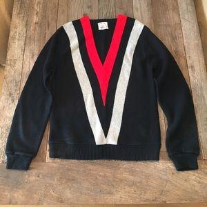 Sears Roebuck Co Other - •VINTAGE• SEARS SPORTSWEAR V-Neck Striped Sweater