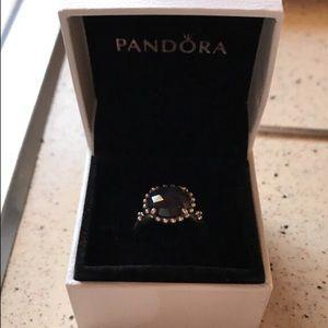 Pandora Jewelry - Pandora midnight blue ring!!!