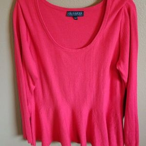 Eloquii Sweaters - Peplum sweater