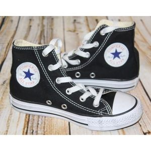 Converse Other - CONVERSE All Star Chuck Black Youth 12 WORN ONCE