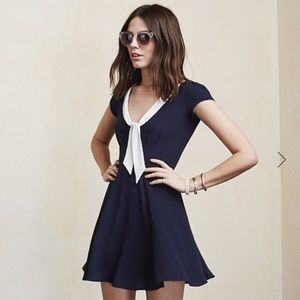 Reformation Dresses & Skirts - Reformation sailor dress in navy