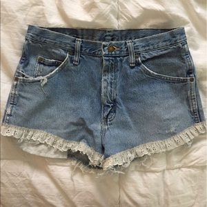 Urban Outfitters Pants - High Waisted Shorts (Wrangler)