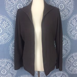 Eileen Fisher Jackets & Blazers - Eileen Fisher Brown Cotton Jacket