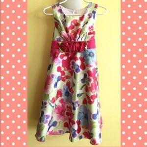 iris & ivy Other - EUC Iris & Ivy Girl Floral Print Dress size 4