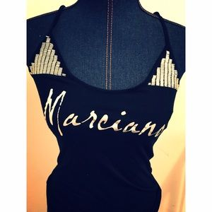 Guess by Marciano Tops - Marciano • Black spaghetti shirt • Medium