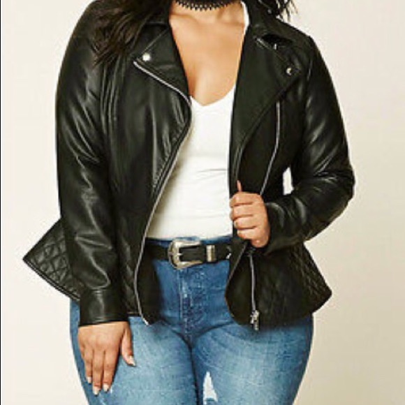 30 off forever 21 jackets amp blazers plus size peplum
