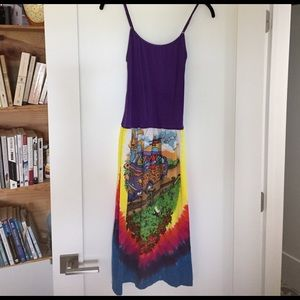 Dresses & Skirts - ORIGINAL Grateful Dead Tie Dye Dress