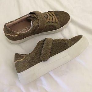 J/Slides Audrey Glitter Sneakers