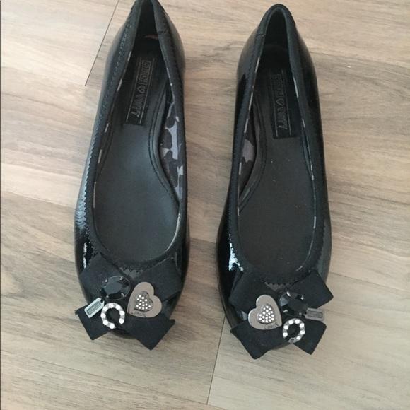 80 coach shoes coach black patent leather flats