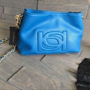 bebe Handbags - Bebe blue Crossbody bag cute design