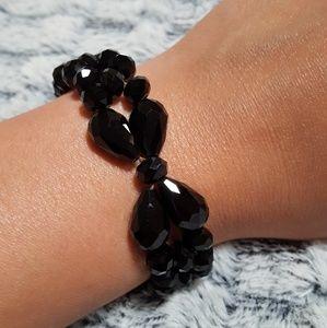 BKE Jewelry - BKE Bow Bracelet in Black