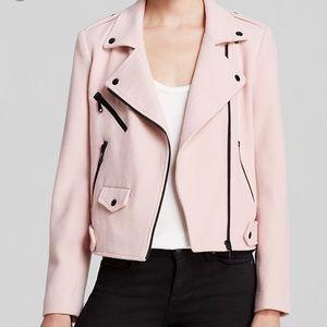 Rebecca Minkoff Wes Moto Jacket Pink