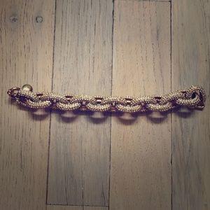 J. Crew Jewelry - Pave J Crew Bracelet!