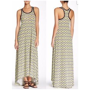 American Twist Dresses & Skirts - NEW American Twist Hi-Lo Geometric Maxi Dress