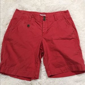 CAbi Pants - CAbi Flat Front Casual Long Shorts Size 6