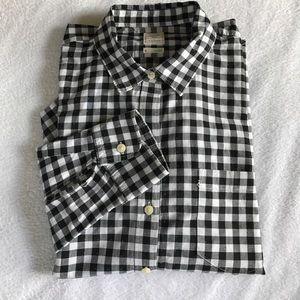 GAP Tops - GAP checkered shirt.