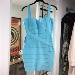 Dresses & Skirts - NEW Blue Bandage Dress