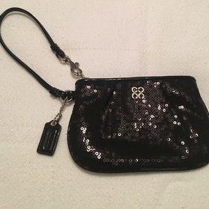 Coach Handbags - NWOT Coach sequined wristlet