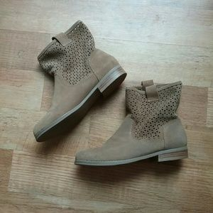 Sole Society Shoes - Laser cut boots
