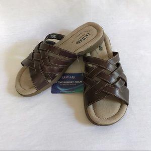 "Eastland Shoes - NWT Eastland ""Hazel"" Brown Sandals"
