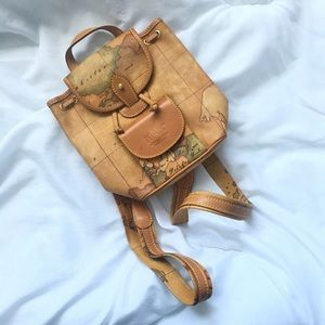Alviero Martini Handbags - Alviero martini mini leather backpack