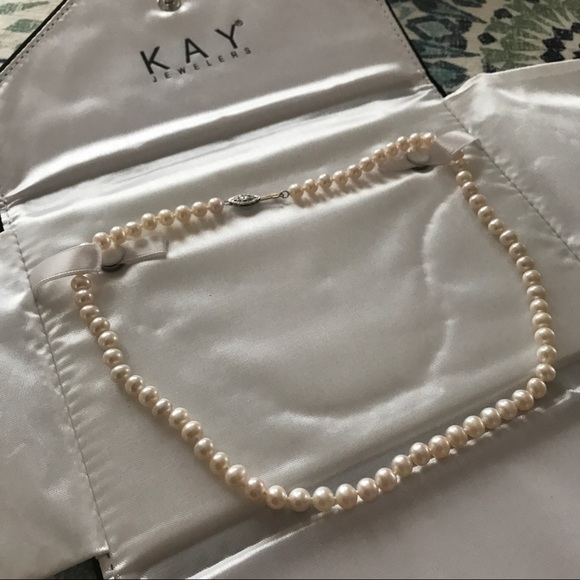 Kay Jewelers Pearl Necklace: 50% Off Kay Jewelers Jewelry