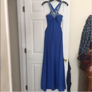 Faviana Dresses & Skirts - Faviana Couture Blue Prom Dress 💙
