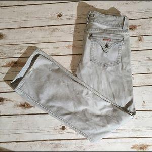 Hudson light wash jeans