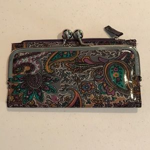 Handbags - 💜Cute wallet, purple paisley💜